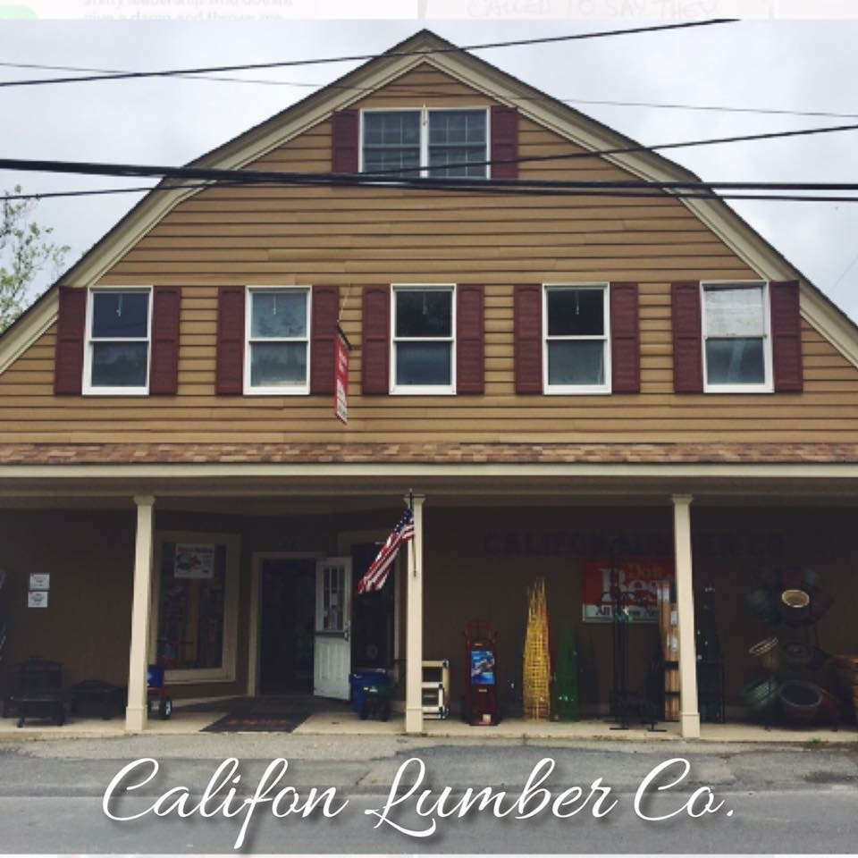 Califon Lumber Company: 48 Main St, Califon, NJ