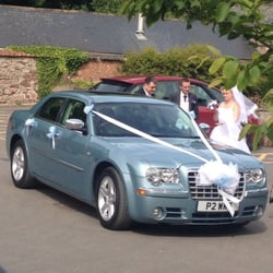 Photo Of Ww Occasion Cars Swindon United Kingdom Chrysler 300c Dressed For Wedding