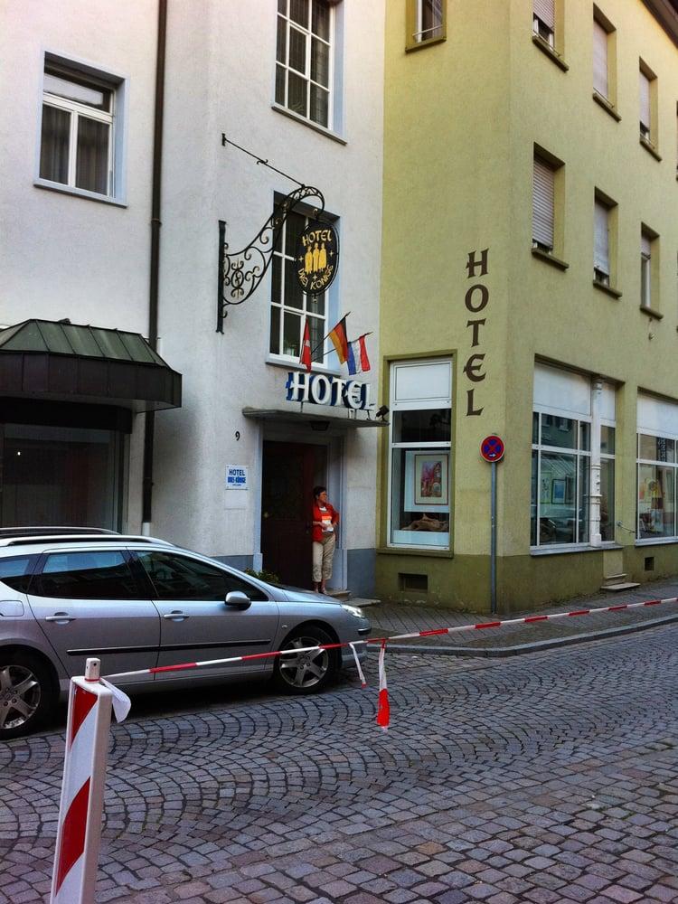 Hotel drei k nige cinema klosterstr 19 offenburg for Offenburg germania