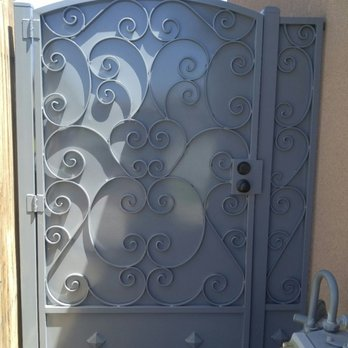 Photo Of Jaguar Wrought Iron Bakersfield Ca United States Side Entry Gate