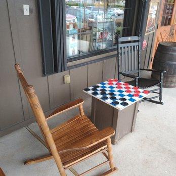 Phenomenal Love These Rocking Chairs Yelp Inzonedesignstudio Interior Chair Design Inzonedesignstudiocom