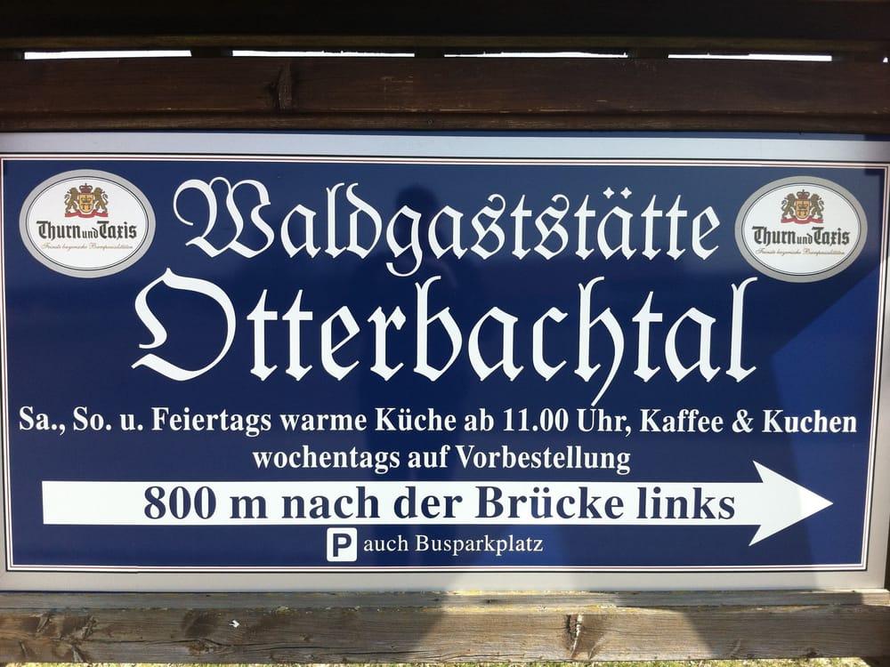 Waldgaststatte Otterbachtal Beer Garden Bruckhaus 1
