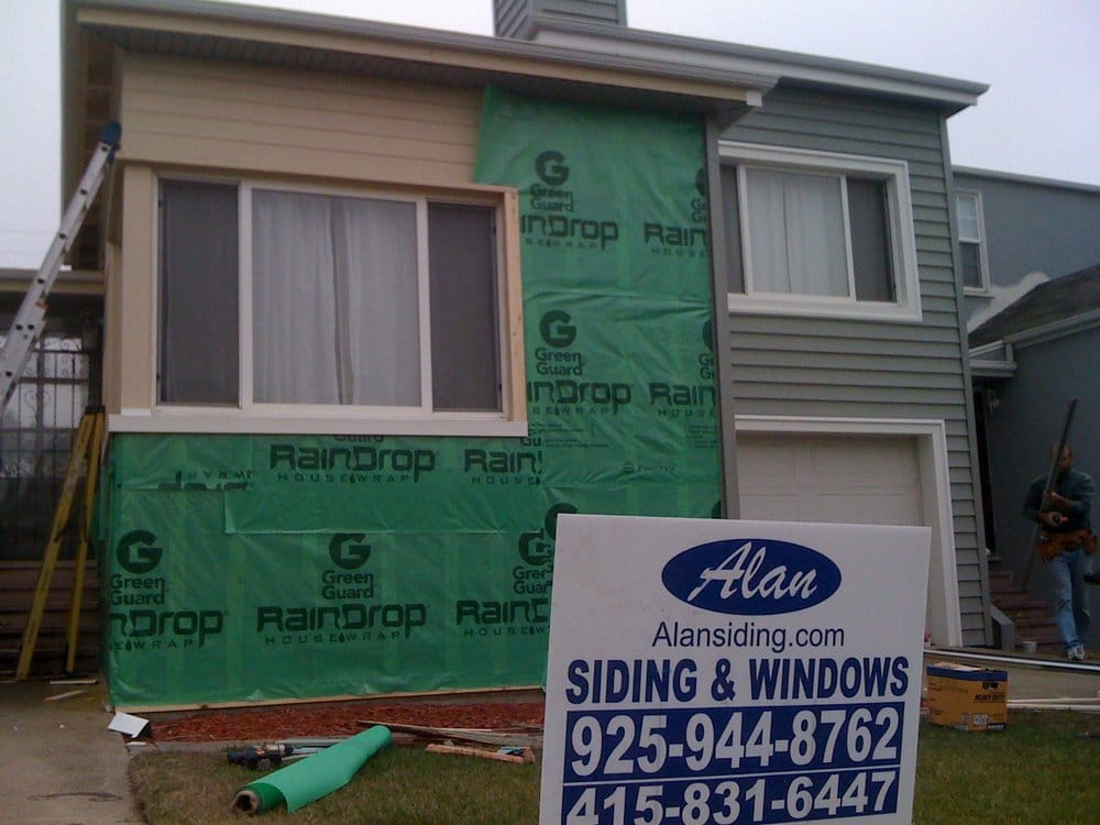 We Replace The Weather Barrier In Addition To The Siding