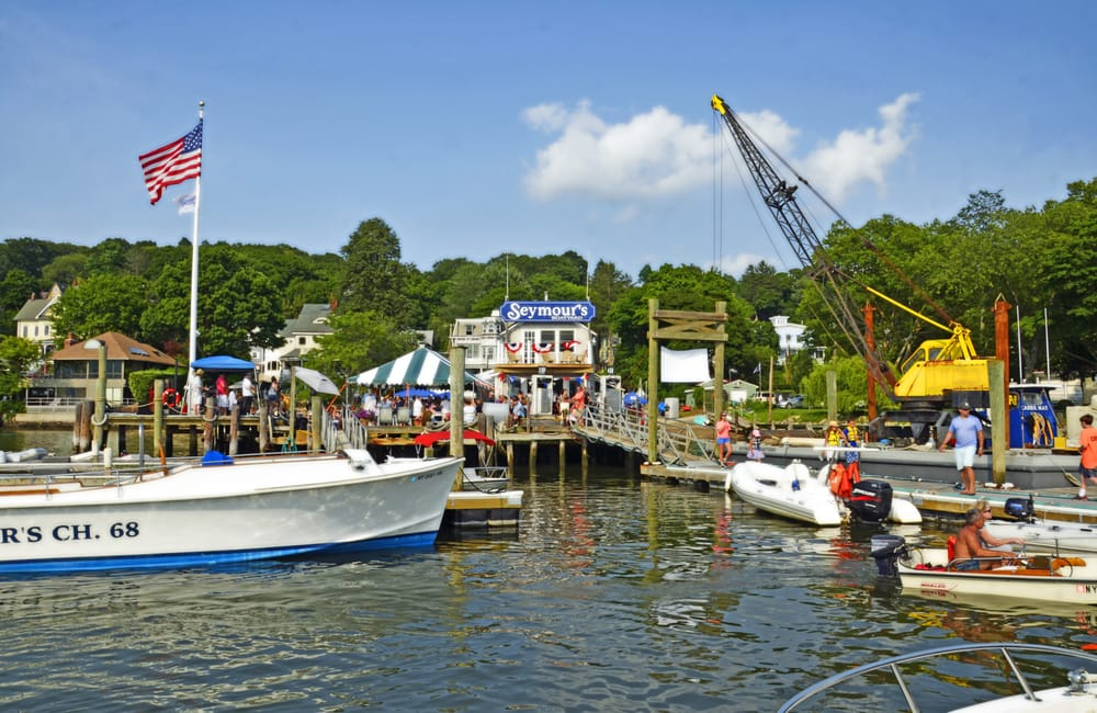 Seymour's Boatyard: 63 Bayview Ave, Northport, NY