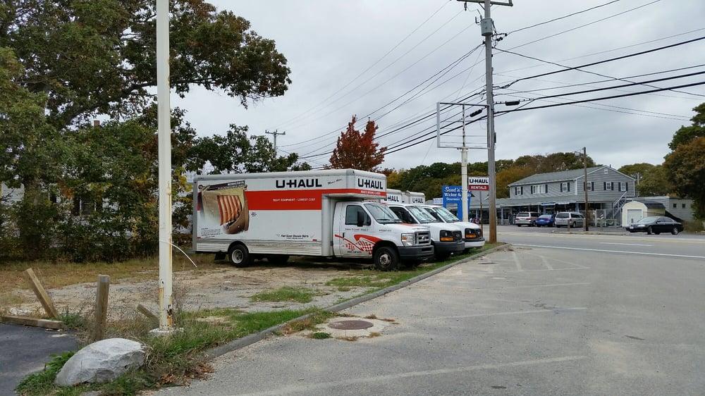 u haul neighborhood dealer truck rental 3199 cranberry hwy east