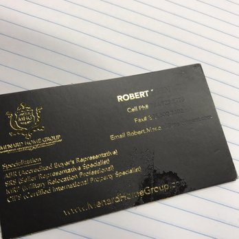 photo of minuteman press miami fl united states horrible gold foil business - Business Cards Miami
