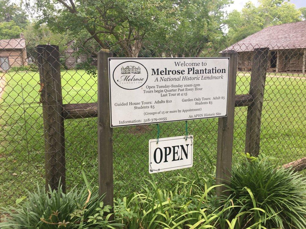 Social Spots from Melrose Plantation
