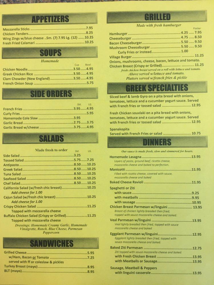 Village Pizza: 1602 Rt 12, Ledyard, CT