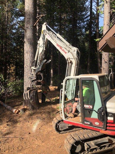 Bob Fine Brush Grinding: Pioneer, CA