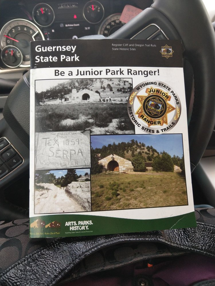 Guernsey State Park: 2187 Lakeside Shore Dr, Guernsey, WY