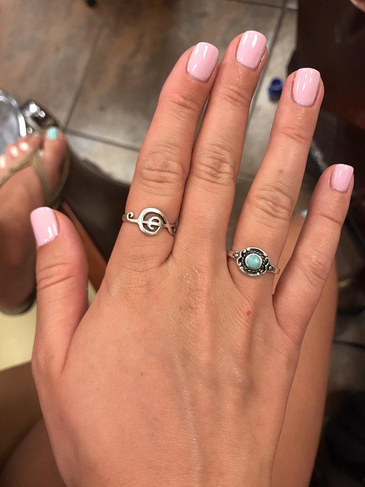 Gel Manicure Light Pink