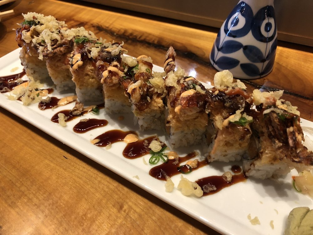 Food from SaWa Sushi & Sake