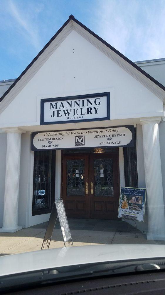 Manning Jewelry: 207 W Laurel Ave, Foley, AL