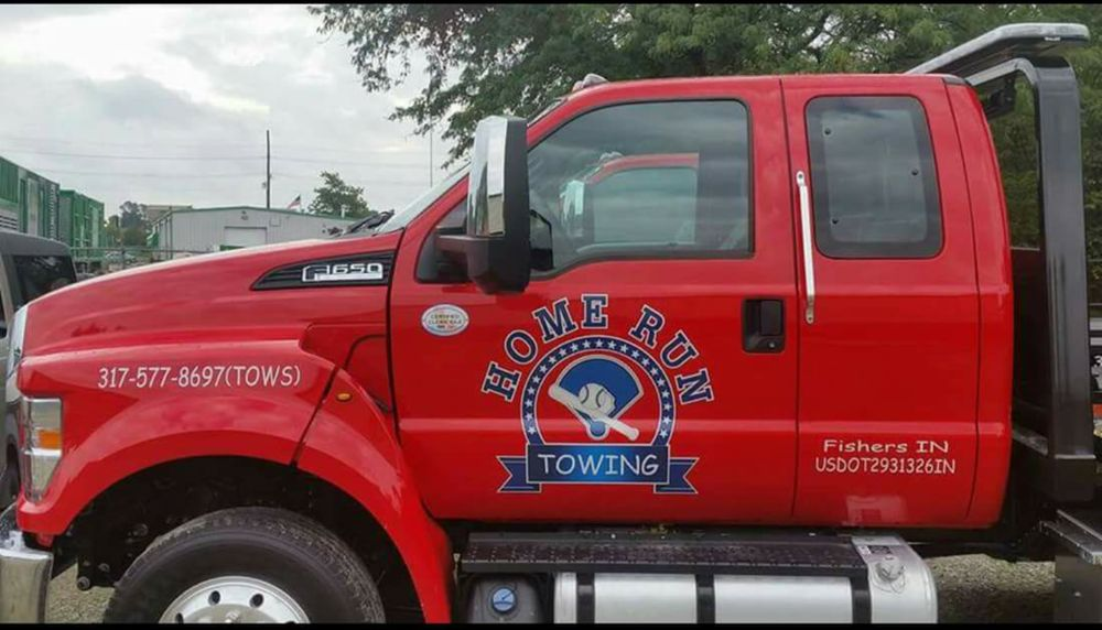 Home Run Towing: 125 Shadowlawn Dr, Fishers, IN