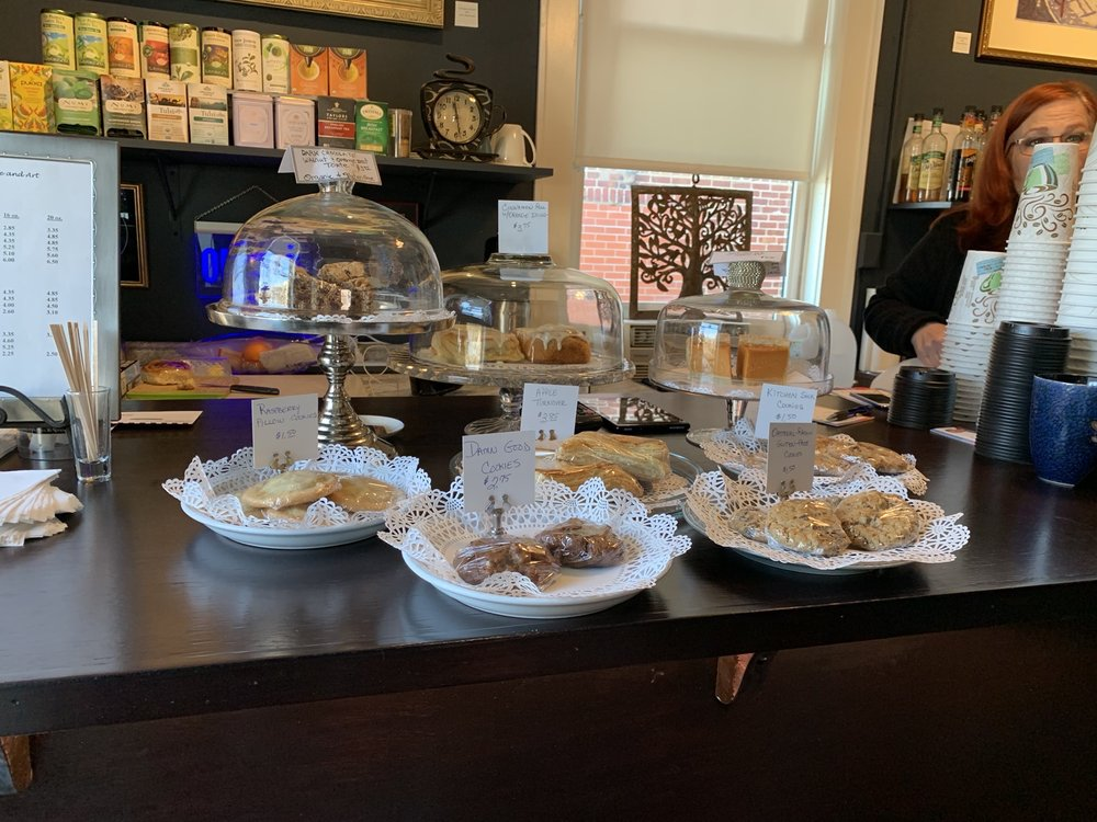 Art & Coffee Bar: 118 5th Ave E, Hendersonville, NC
