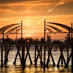 Photo Of Redondo Beach Pier Ca United States Summer Sunset