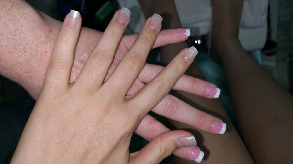 Photo Of T Perfect Nails Waipahu Hi United States Pink And White
