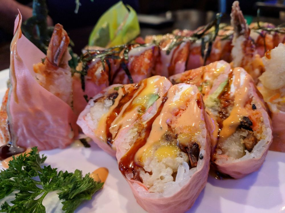 Food from Umi Sushi