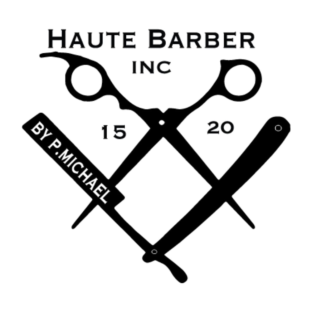 logo of haute barber inc - Yelp
