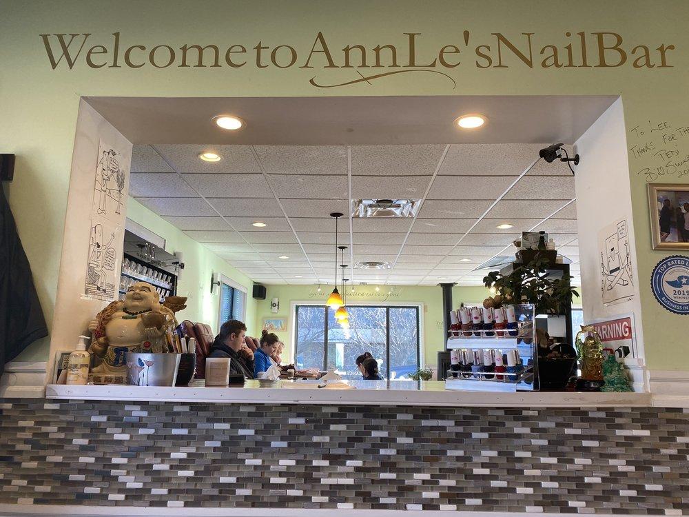 AnnLe's Nail Bar: 62 E St, South Portland, ME