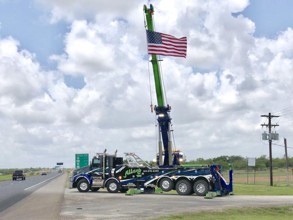 Allan's Wrecker Service: 2103 Dudley St, Victoria, TX
