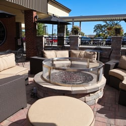 Photo Of Unique Suites Hotel Charleston Il United States Outdoor Patio With