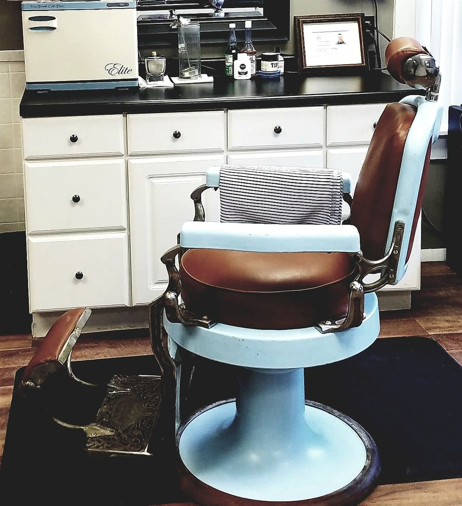 s restored porcelain barber koken ads antique chair shop marketplace original