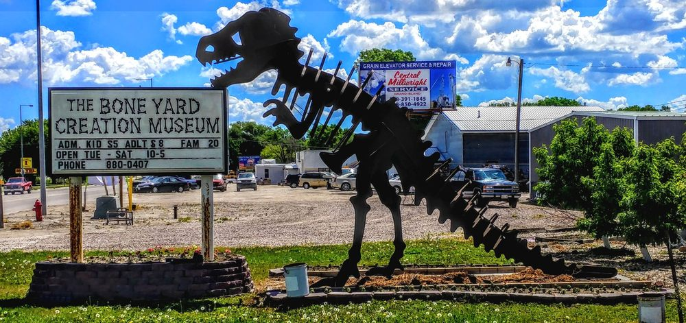Boneyard Creation Museum: 1709 S E St, Broken Bow, NE