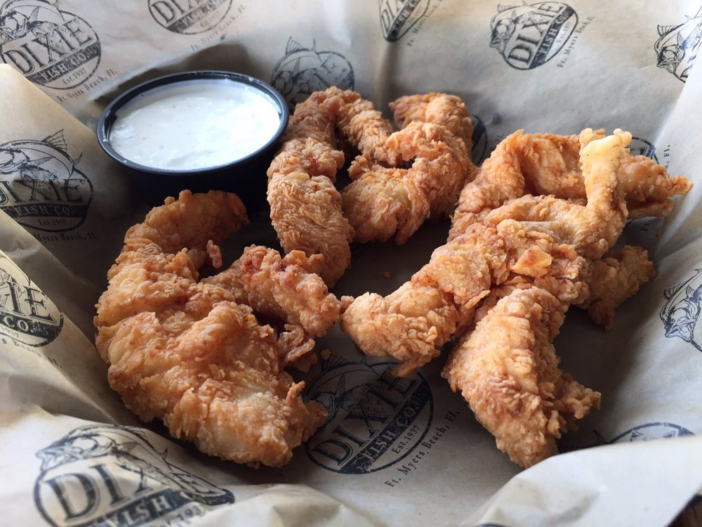 Chicken strips yelp for Dixie fish company