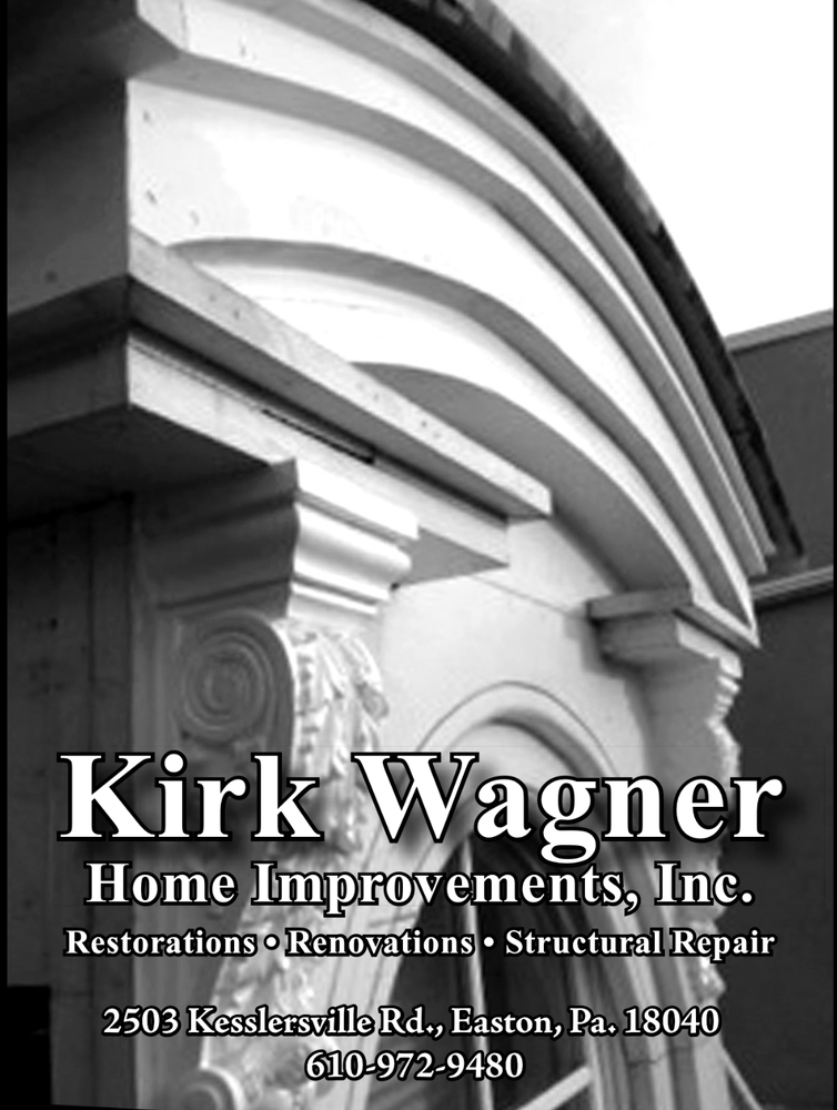 Kirk Wagner Home Improvements, Inc: 2503 Kesslersville Rd, Easton, PA