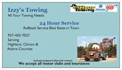 Izzys Towing & Recovery