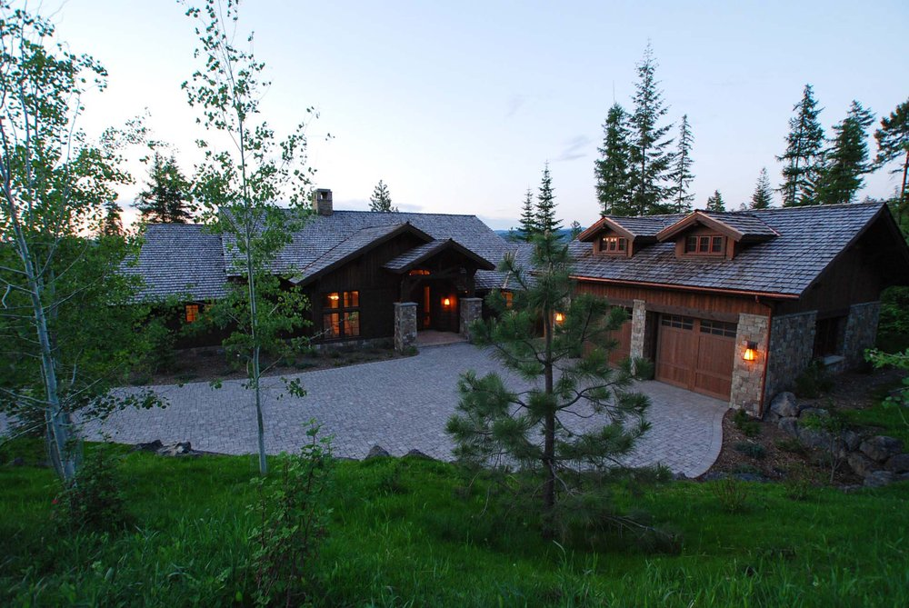 Enjoyable A Custom Home In Gozzer Ranch Idaho On Lake Coeur Dalene Download Free Architecture Designs Grimeyleaguecom
