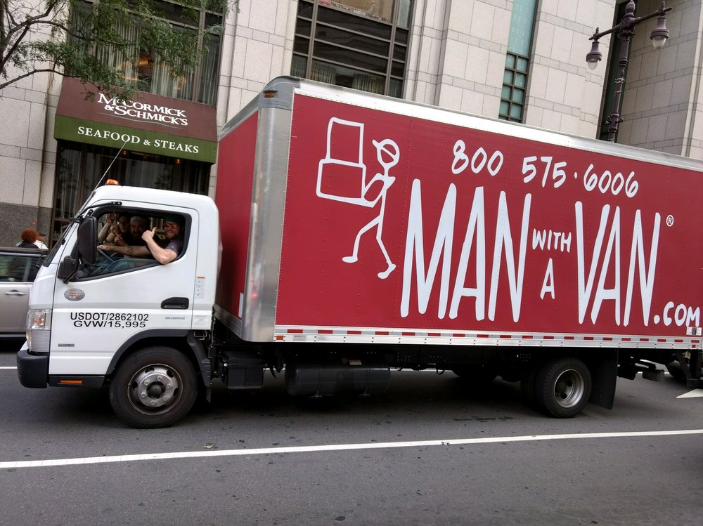Man With A Van Moving & Delivery