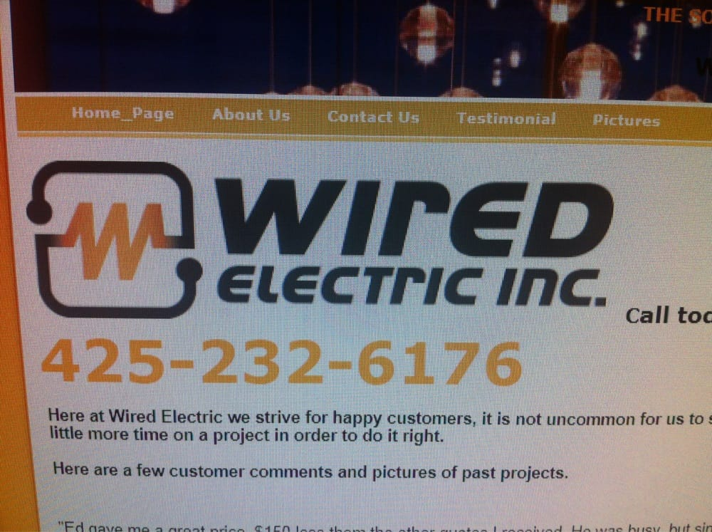 Wired Electric - Electricians - 5808 146th Pl SE, Everett, WA ...