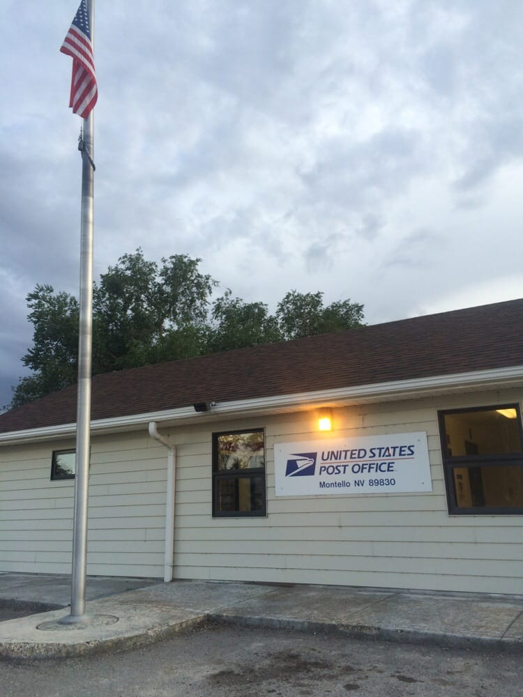 US Post Office: 143 Front St, Montello, NV
