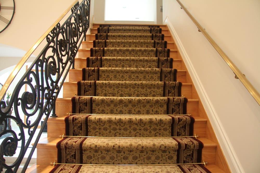 Photo Of Custom Stair Runners   Bohemia, NY, United States. Straight Stair  Runner