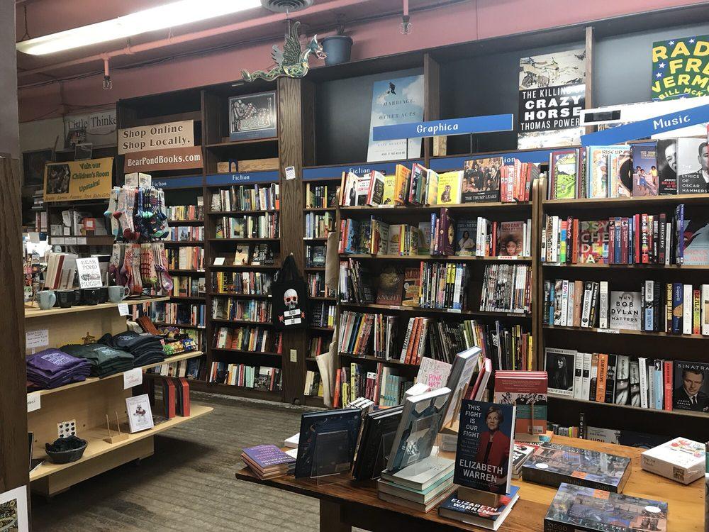 Bear Pond Books: 77 Main St, Montpelier, VT