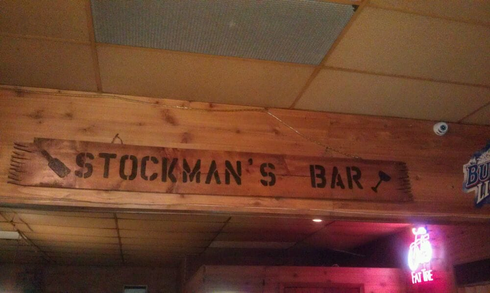 Stockman's Bar: 105 S 4th St, Basin, WY