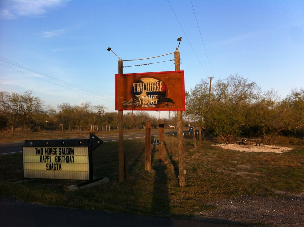 TWO HORSE SALOON: 293 E Fm 771 Lot A, Riviera, TX