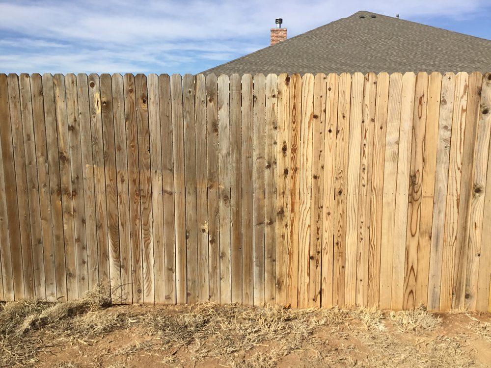 Panhandle Fence Staining: Amarillo, TX