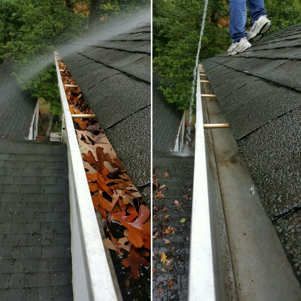 Elegant Photo Of NJ Four Seasons Gutter Cleaning   Paterson, NJ, United States.  Gutter