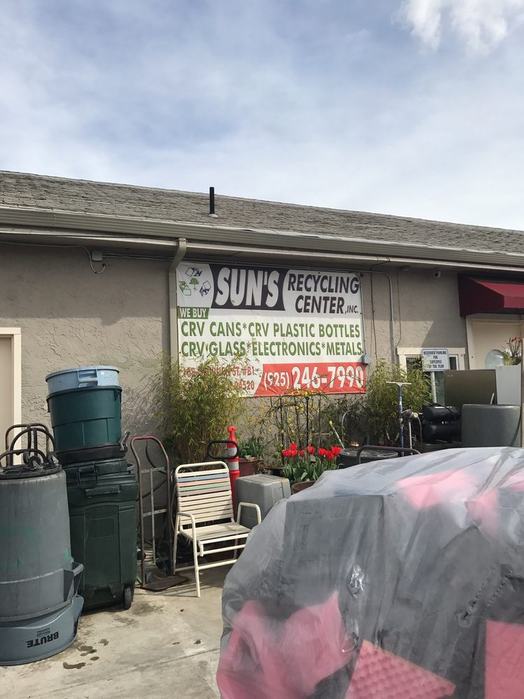 Sun's Recycling Center: 124 Medburn St, Concord, CA