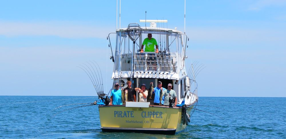 Lake Erie Fishing Charters with 'Eye-Catcher Charters: 5925 E Saylor St, Marblehead, OH