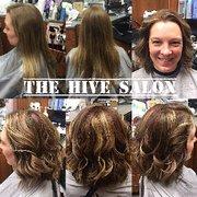 Bombshell hair design hair extensions 5465 mills civic pkwy des moines hair extensions nicole franklin hive salon pmusecretfo Choice Image