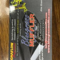 Bluegrass muffler brake auto repair 103 n madison ave photo of bluegrass muffler brake louisville ky united states business card colourmoves