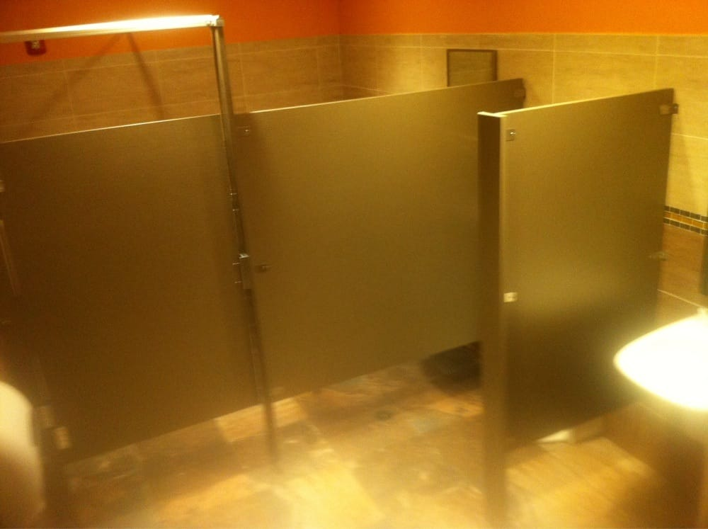 The Men 39 S Bathroom Features A Stall And A Urinal Yelp
