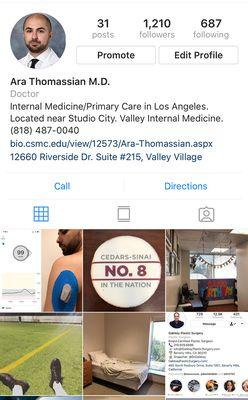 Ara Thomassian, MD - Cedars-Sinai 12660 Riverside Dr Ste 215 Valley