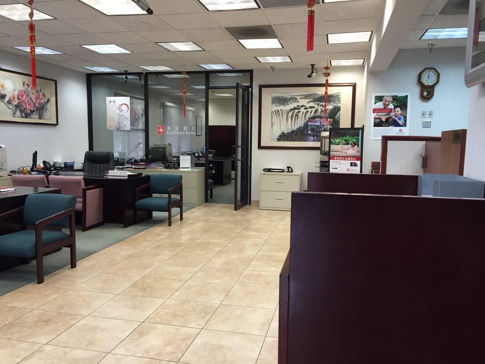 East West Bank: 1101 W Valley Blvd, Alhambra, CA