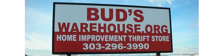 Bud S Warehouse Sign Located Just North Of I 70 And East