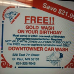 Downtowner Car Wash Detailing